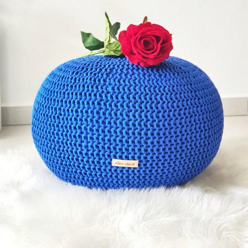 Puf malý - kráľovská modrá