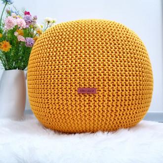 Puf - žltá farba