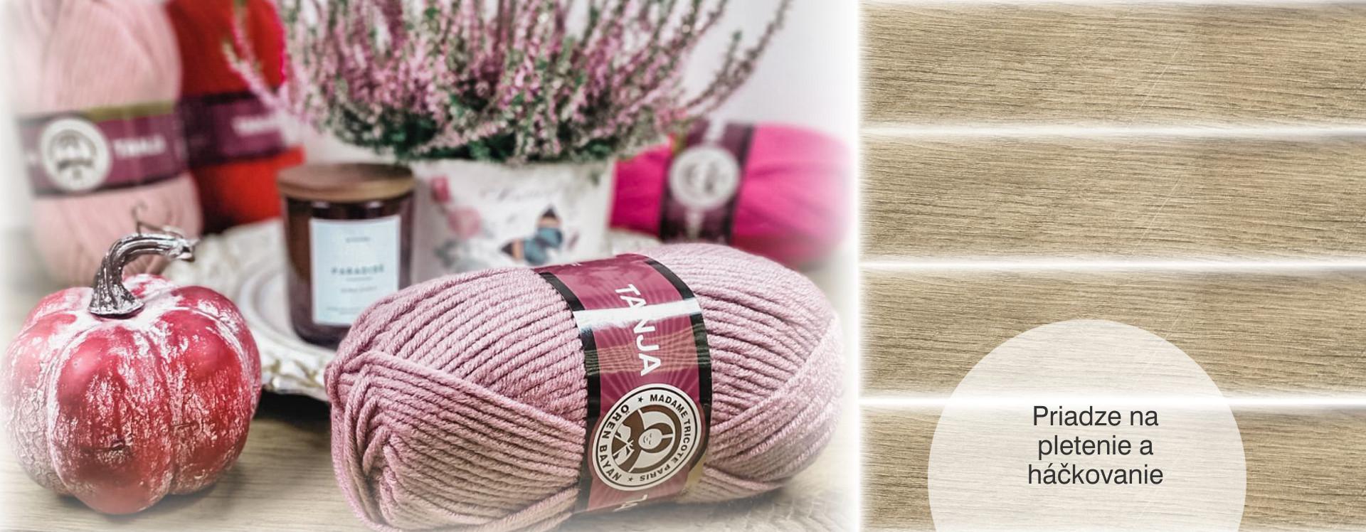 priadze pletenie háčkovanie