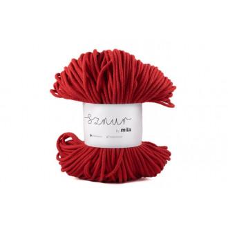 Mila špagát 3 mm - červená
