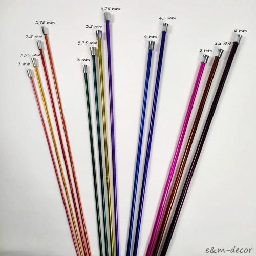 Ihlice na pletenie Knitpro Zing 35 cm