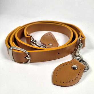 Ideal dlhá rúčka na kabelku - svetlo hnedá 120 cm
