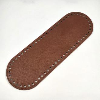 Ideal Dno na kabelku z ekokože 10x30 cm - hnedé