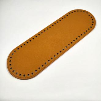 Ideal Dno na kabelku z ekokože 10x30 cm - žlto hnedé