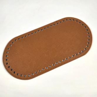 Ideal Dno na kabelku z ekokože 12x25 cm - svetlo hnedé