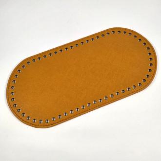 Ideal Dno na kabelku z ekokože 12x25 cm - žlto hnedé