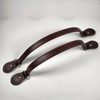 Ideal rúčky na kabelku tmavo hnedé 1,5x43cm - 2ks