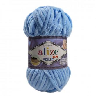 ALIZE Velluto - modrá