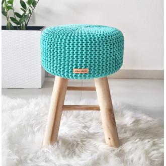 Taburetka stolček -mentolová