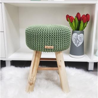 Taburetka stolček - šalviová farba