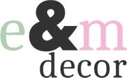 E&M decor - Handmade dekorácie a doplnky do bytu